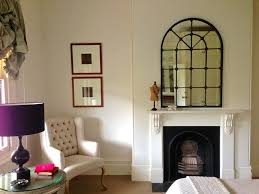 Large Arched Wall Mirror Antique Large Arch Cast Iron Window Frame Mirror Over Fireplace