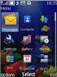 themes java nokia 2700 free nokia 2700 reef animated app download in nature art tag