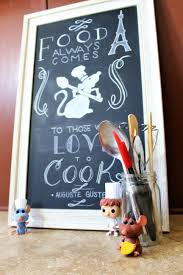 ratatouille chalkboard art for the kitchen the healthy mouse
