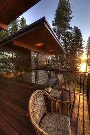 Lake Home Interiors Elegant Coeur A U0027alene Cabin Blends Lovely Lake Views With Modern