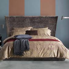 bedroom popular king duvet cover with pendant lamp and brown