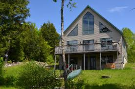 Stonegate Farmhouse Sold Maine Lakefront Home And Real Estate For Sale On Upper Cold