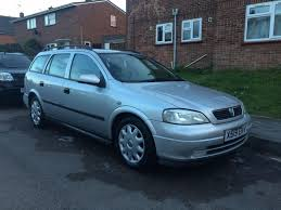 used 2001 vauxhall astra estate 1 6 auto fsh in cm7