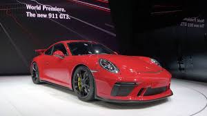 porsche gtr 3 2018 porsche 911 gt3 news and intro with price horsepower and