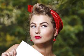 how to wear a bandana with short hair 12 glamorous short hairstyles using bandanas hairstylec