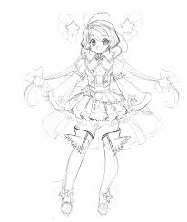 star princess concept sketch by manouazumi on deviantart