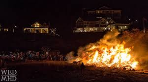 the christmas tree bonfire a tradition resumes marblehead ma