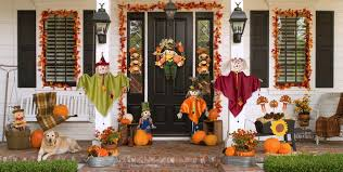thanksgiving outdoor decorations city