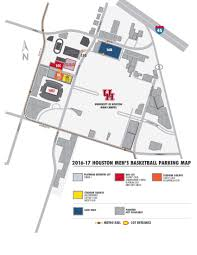Ohio State Parking Map by Uhcougars Com University Of Houston Official Athletic Site