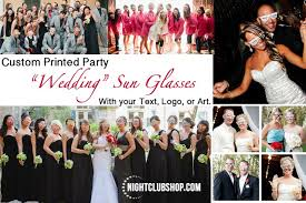 custom wedding wedding wedding custom sun glasses nightclubshop