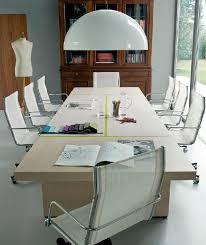 Oak Boardroom Table Contemporary Boardroom Table Oak Rectangular Blade By Matteo