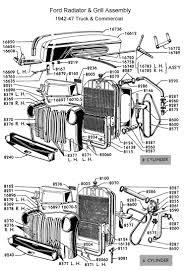 flathead parts drawings radiators