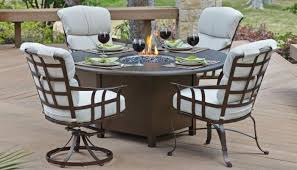 Fire Patio Table by Holiday Patio Furniture Fire Tables