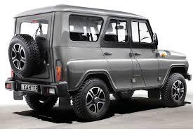 uaz jeep trophy