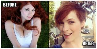 what is felicia day s hair color felicia day s haircut just became headline news thanks to sexism