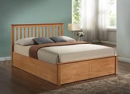 king size ottoman beds uk harmony beds kensington 5ft kingsize wooden ottoman bed