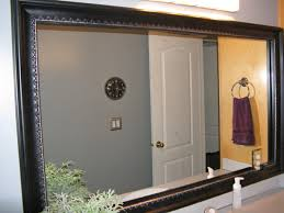 bathroom mirror frame ideas custom frames for existing mirrors