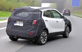 opel mokka 2017 scoop opel u0027s mokka undergoes a light nip and tuck for 2016