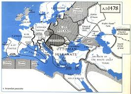 Europe 1815 Map by This Map Of Europe In 1487 Shows The Last Remnant Of The Golden