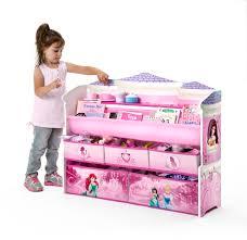 toy organizer delta children disney princess deluxe book u0026 toy organizer baby