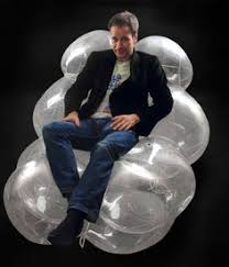 Blow Up Armchair Design And Paper Malafor U0027s Blow Up Style Furniture Made Of Tyvek