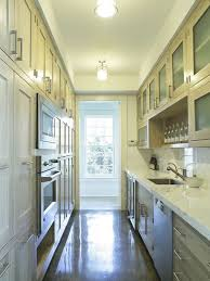 narrow kitchen with island interior designs for and narrow kitchens
