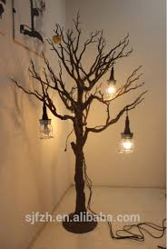 8ft led tree for shop decoration black artificial tree