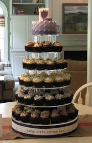 sam u0027s graduation cupcake tower the couture cakery