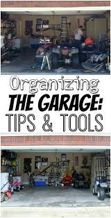 organizing the garage tips u0026 tools the turquoise home
