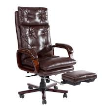homcom modern office chair high back ergonomic pu seat reclining