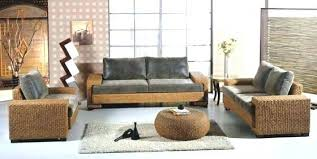 Rattan Living Room Furniture Wicker Living Room Sets Kgmcharters