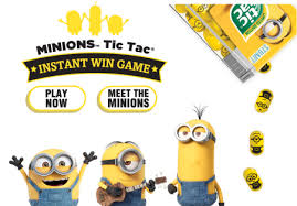 where to buy minion tic tacs win minions tic tac instant win