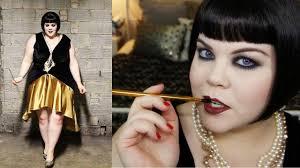 1920 u0027s flapper makeup halloween tutorial youtube