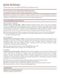 Resume Objectives Examples For Customer Service by Customer Resume Objective