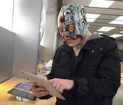 morph masks cyborg cool mania