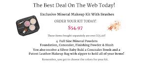 mineral makeup natural mineral cosmetics mineral makeup samples