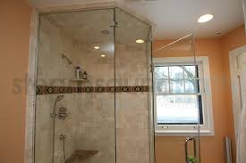 Steam Shower Bathroom Designs Neo Angle Custom Frameless Steam Shower Photo Gallery And Image