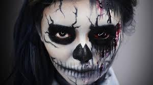 bloody sugar skull makeup youtube