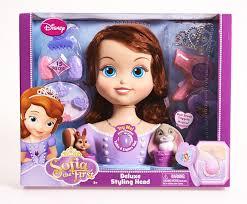 sofia princess doll styling head