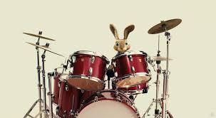 easter bunny rabbit plays the drums in hop movie desktop wallpaper