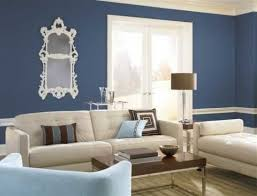 beige and blue contrast walls behr paint colors interior color