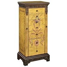 Jewelry Armoire Clearance Powell Masterpiece Hand Painted Jewelry Armoire Dunk U0026 Bright
