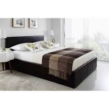 4ft Ottoman Storage Beds by Siesta Faux Leather Ottoman Storage Bed Online4furniture Co Uk