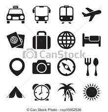 travel icons images Travel icons vectors search clip art illustration drawings and jpg
