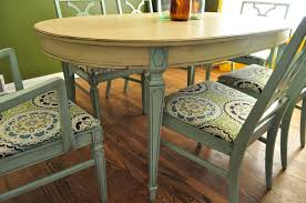 Painted Dining Chairs by Rooms Sloan Chalk Chairs Makeovers Dining Room Tables Blue