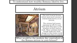 Ancient Roman House Floor Plan by Roman Houses Ppt Video Online Download