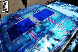 custom paint on custom cars metal flaked roof photos