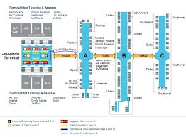 denver terminal b map a look inside the terminal and concourses at denver international
