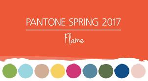 pantone 2017 spring colors pantone spring colors 2017 flame hm etc
