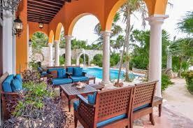 Hacienda Home Interiors by Hacienda Kass Soliman Bay Mexico Luxury Rental House Villa